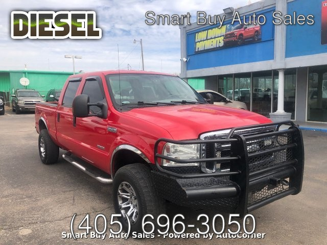 2007 Ford F-250 SD Lariat Crew Cab 4WD 5-Speed Automatic