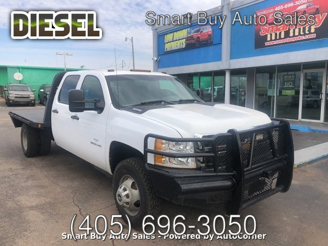 2013 Chevrolet Silverado 3500HD Work Truck Crew Cab Long Box 4WD 6-Speed Automatic